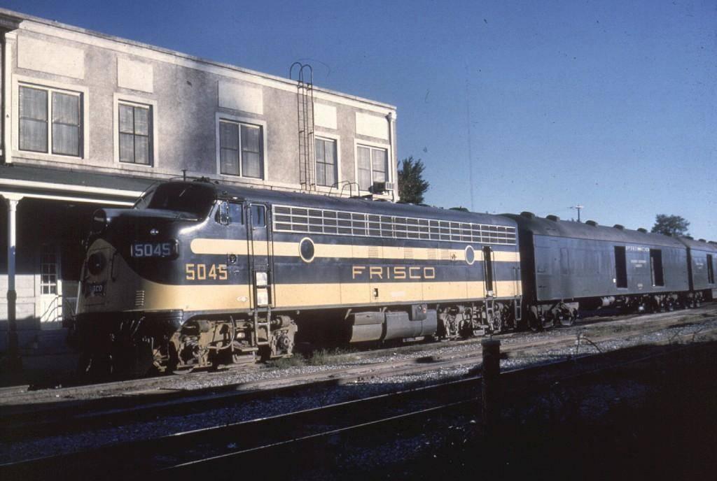 Frisco Passenger Trains
