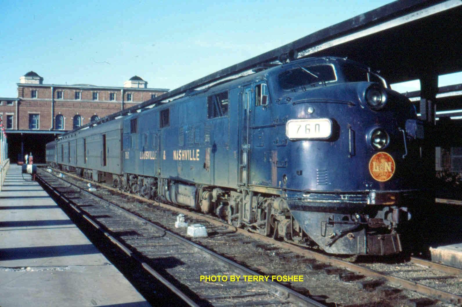Used Cars Memphis Tn >> Memphis L&N Passenger Trains Pictures